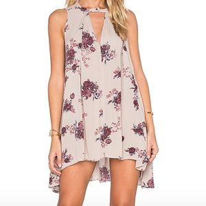 NWOT Free People Tree Swing Tunic Dress Floral